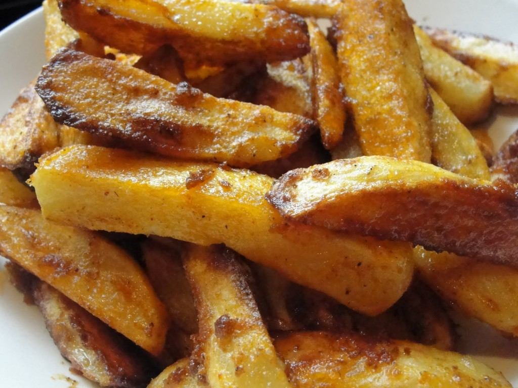 A couple of homemade french fries