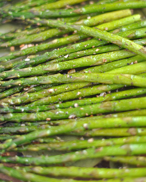 Roasted Asparagus - Lots and lots of Roasted Asparagus