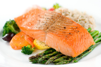 Baked Salmon with lemon