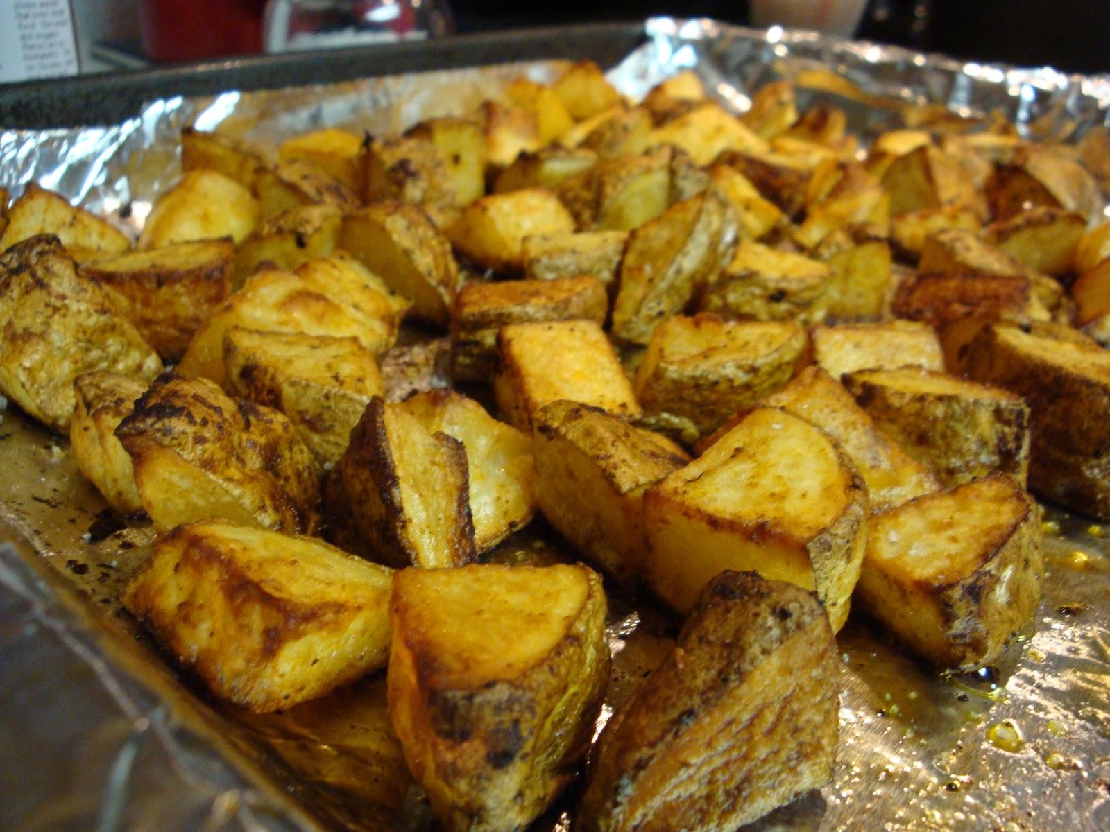 See? Easy potatoes.